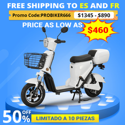BENOD 48V Electric Scooter Lithium Battery Electric Motorcycle 50KM High-Speed Electric Motocicleta Eléctrica Motor Moped