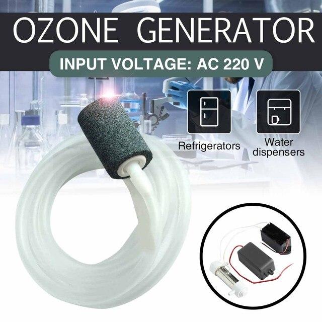 הגעה חדשה AC 220V 500mg אוזון מחולל אוזון מים אוויר נקי מעקר Ozonizer מטהר