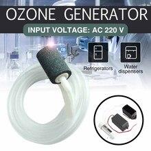 Gerador de ozônio, esterilizador de ozônio, água e ar limpo ac 220v 500mg