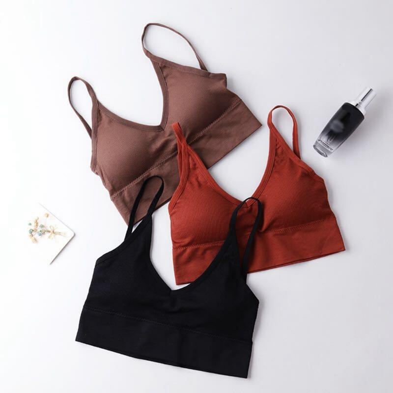 Sexy Women Push Up Bra Bras Fitness Tops Brassiere Bralette Female Tube Top Underwear Bralet