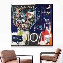 Jean michel after puno холст картина печать гостиная домашний