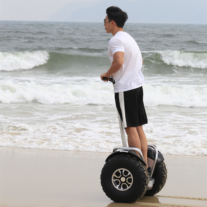 19 inch big tire hoverboard 2 wheels scooter High Power Electric self balancing scooter adjustable hover board skateboard (15)