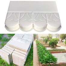 Садовые diy садовые забор бетонные формы цемент форма для цемента