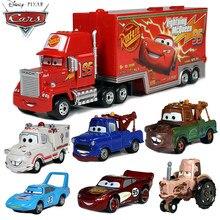 Original 1:55 disney pixar carros metal diecast carros brinquedo verde azul branco mater chewall relâmpago mcqueen carro para crianças presente