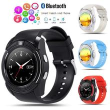 New Bluetooth  Smart Watch Relogio Android smartwatch phone fitness tracker reloj Watches subwoofer women men