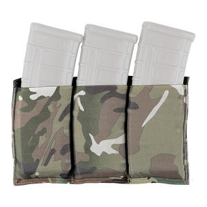 Krydex Tactical Magazine Holder Elastic Triple Magazine Pouch For JM M4 5.56 Water Gel Beads Magazine Tactics Accessories