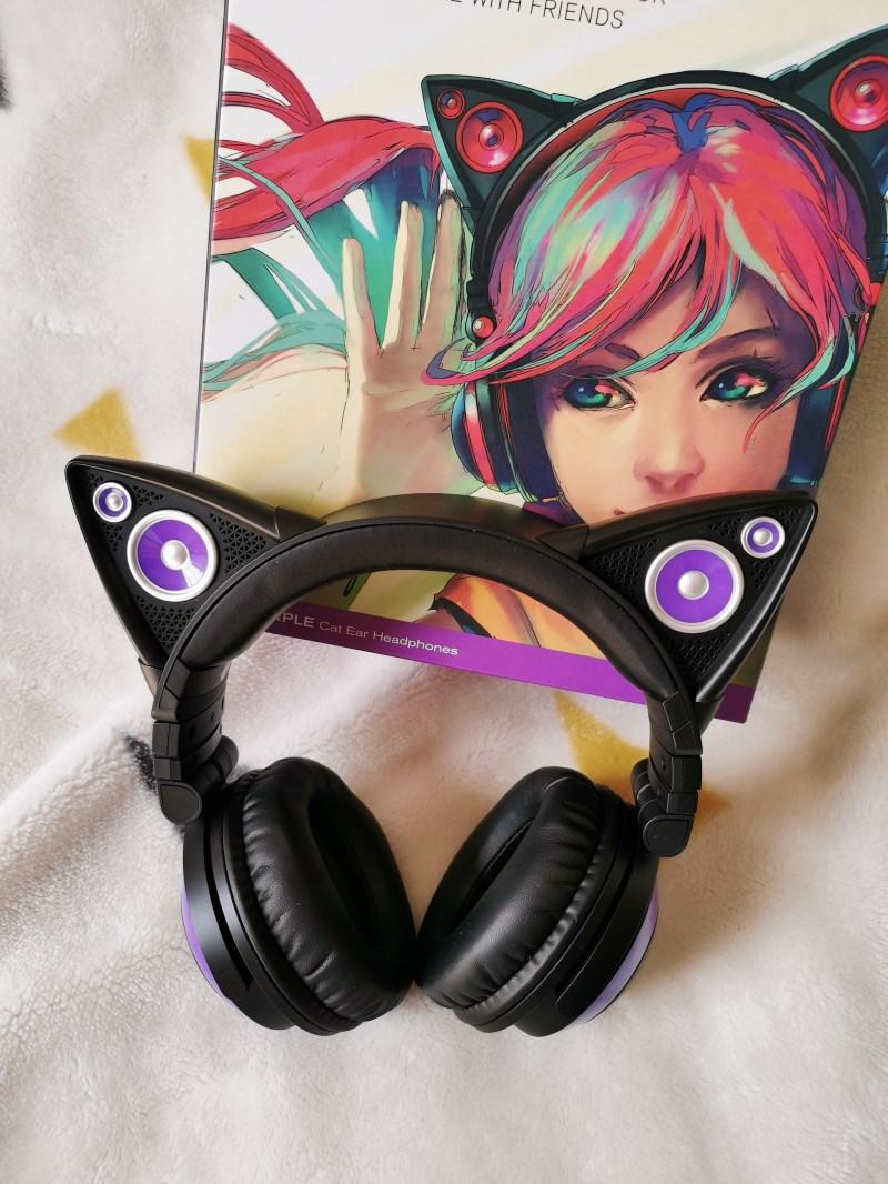 orelha fone de ouvido estilo comics duas