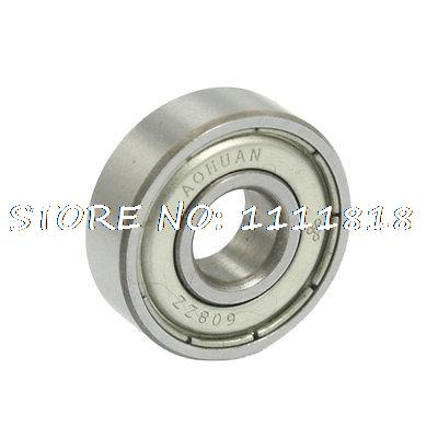 Double Shielded Deep Groove Ball Bearings 8mm X 22mm X 7mm 608ZZ