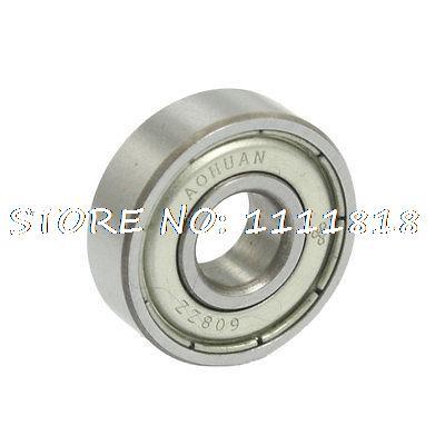 Double Shielded Deep Groove Ball Bearings 8mm X 22mm X 7mm 608ZZ