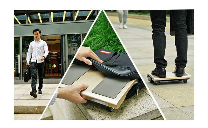 Adult Electric Notebook Scooter Four Wheels Self Balancing Scooter Walk Car Portable Electric Scooter With APPBluetooth (20)