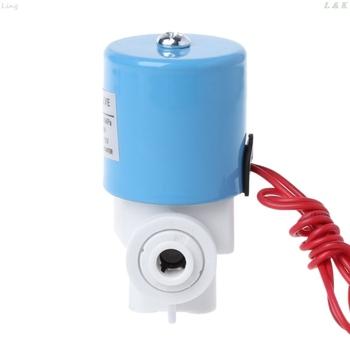 1 4 #8222 do szybkiego łączenia zawór elektromagnetyczny wlotu wody części maszyn do czystej wody tanie i dobre opinie Solenoid Valve 4 1x6 1cm 1 61x2 4inch Średniego ciśnienia Standardowy Bez konieczności Ręcznego I Instrukcji Metal plastic