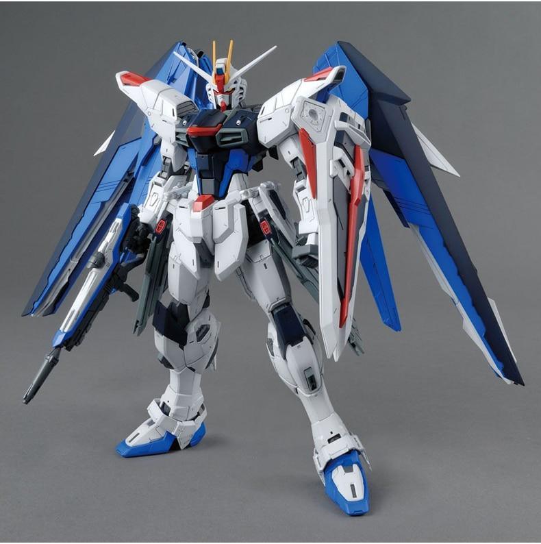Anime Gaogao Model 1/144 Mobile Suit Strike Freedom Gundam Model Assembled Robot Action Figure Gift Toys For Children