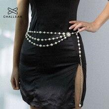 Женский ремень с бахромой и серебряным жемчугом, женское винтажное платье, поясные цепные ремни, женские дизайнерские Длинные платья цепочки 284