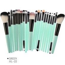 Eyeshaow Brush Foundation Highlighter Set 15/22pcs Makeup blending brush