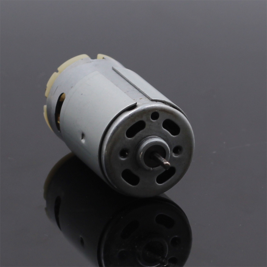 Large Torque Micro 390 Motor DC Small Motor with Anti-magnetic Ring High Efficiency 12V 5000rpm D-Shaft Diameter 2.3 mm