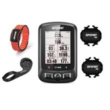 HR60 with IGPSPORT IGS 618 Bike Computer GPS Bluetooth ANT+