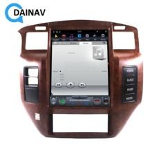 Автомагнитола 2 din на Android, мультимедийный плеер для NISSAN патруль Y61 2004-2019, автомобильный GPS-навигатор, стерео аудио, вертикальный tesla 2 din
