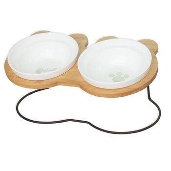 Bamboo Shelf Ceramic Bowls 1