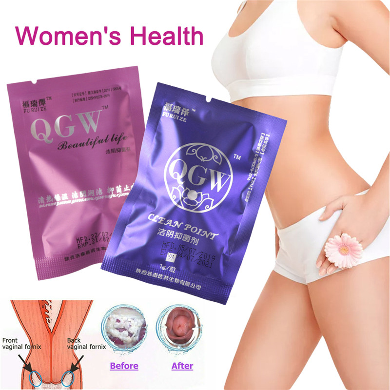 6/10pcs Beautiful life tampons swab vaginal clean point tampon discharge toxins gynaecology pads feminine hygiene product