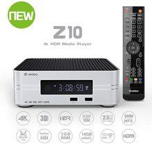 Zidoo Z10 4K Chơi Phương Tiện Android 7.1 Smart TV Box 2G 16G DDR Set Top Box 10Bit HDR Dual Wifi USB 3.0 BT 4.0 Với Quà Tặng Miễn Phí