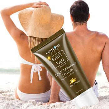 Face Body Natural Bronze Sunscreen Self Tanning Tanning Lotion Tanning Lotion Skin Lotion Darkens 50ML 1