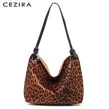 Hobo Handbags Purses Tote Fabric Nylon Leopard-Pattern Large Casual-Design Fashion Women