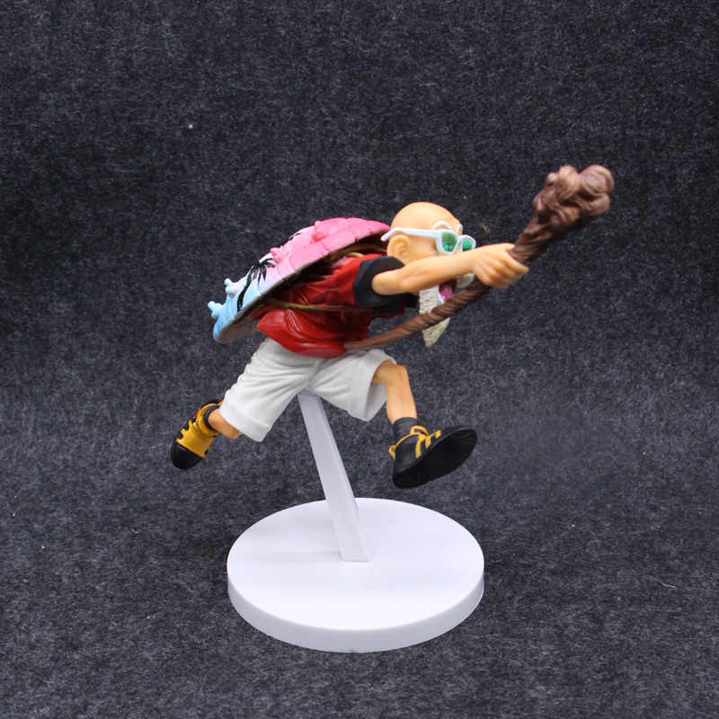 12 CENTÍMETROS Figura Dragon Ball Mestre Kame Figura de Ação Tartaruga Eremita Kamesennin Coliseu Scultures Banpresto Figura de Brinquedo