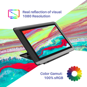 Image 4 - Huion kamvas GT 156HD V3 (kamvas 16) ペンディスプレイモニター15.6インチデジタルグラフィック描画タブレット8192レベルでモニター