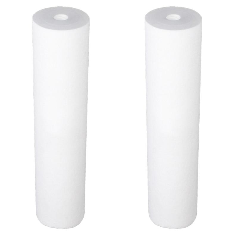 2Pcs/Set PP Cotton Filter Water Filter Purifier Filter 20 inchX 4.5 inch Polypropylene Sediment Water Filter Cartridge