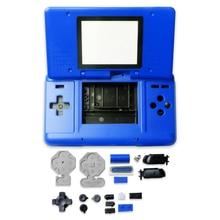 Obudowa skrzynki pokrywa z przyciskami do Nintend DS wymienny pad do konsoli do gier pyłoszczelna obudowa ochronna do części naprawczych NDS