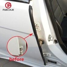 Araba kapı contaları B Pillar ses yalıtımı sızdırmazlık şeritleri toz geçirmez su geçirmez kauçuk contalar Weatherstrip PARCOUR oto aksesuarları