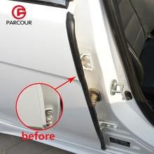 רכב דלת חותמות B עמוד צליל בידוד איטום רצועות Dustproof עמיד למים גומי חותמות Weatherstrip PARCOUR אוטומטי אבזרים