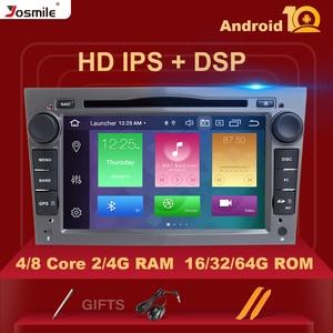 IPS DSP 4GB RAM Android 10 Car Radio Multimedia For Opel Vectra C Vauxhall Astra HG J Antara Zafira B Corsa D vivaro Meriva Veda