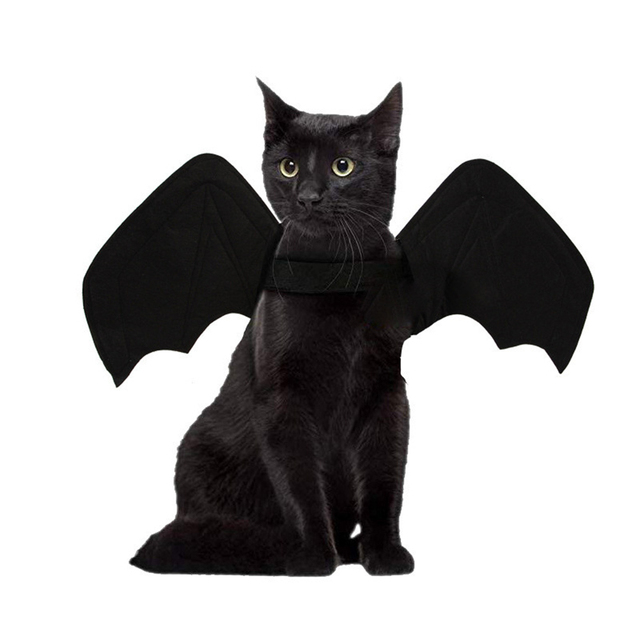 Cat Dogs Costumes Bat Wings Party Supplies Household Small Fashion Artificial Wing Animal Cats Accessories for Pets 4