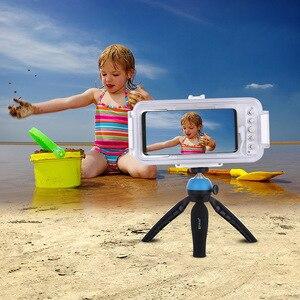 Image 5 - Cadiso 45 m/147ft Su Geçirmez Dalış Durumda Konut Fotoğraf Video Alarak Sualtı Kapak için Galaxy Huawei Xiaomi Tipi tip c Portu