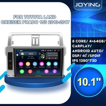 "10""Android 8.1 For Toyota Land Cruiser Prado J150 2013 2014 2015 2016 2017 Auto Car Radio Stereo Video SWC Player GPS Navigation"