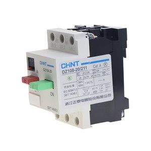 Image 4 - CHNT commutateur de Protection de moteur 3VE1 6.3a 10a3 Pole MCCB DZ108 20 211, commutateur de Protection de moteur 10A