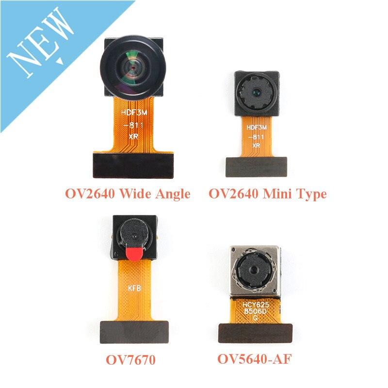 Mini OV7670 OV2640 OV5640-AF Camera Module CMOS Image Sensor Module 2 Million 500W Pixel Wide Angle Camera Monitor Identificatio