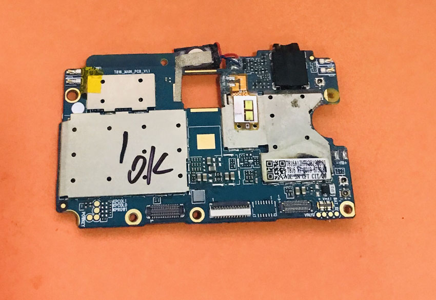 Used Original Mainboard 4G RAM+64G ROM Motherboard For Ulefone MIX MT6750T Octa Core 5.5