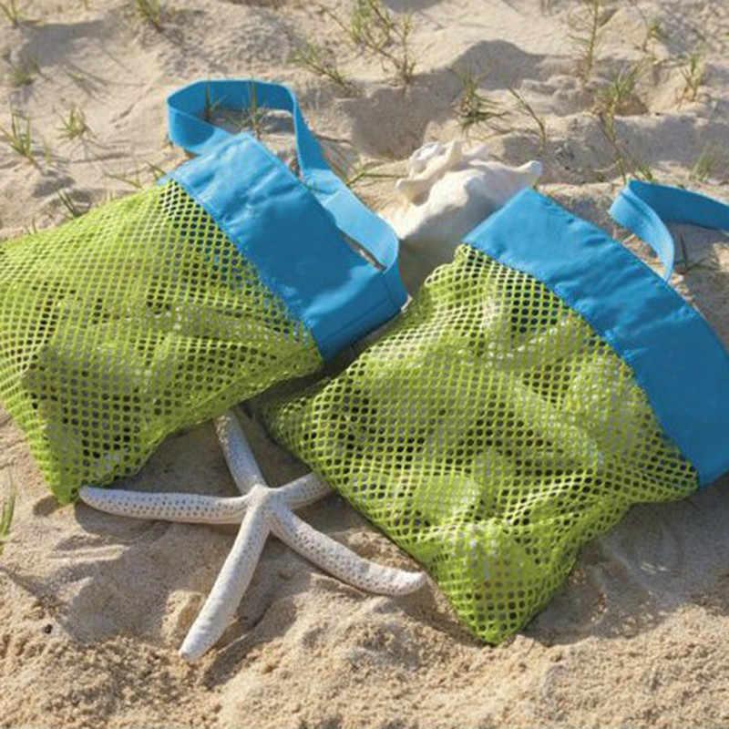 Bolsa de playa SUEF Mom Baby para mujeres y niños bolsa de malla bolsa de almacenamiento de herramientas de juguete bolsa de hombro para niños bolsa de hombro @ 4