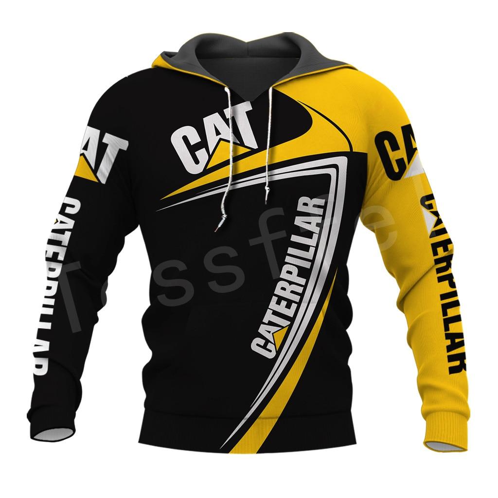 Tessffel Excavator Worker NewFashion Tracksuit Funny Unisex Casual Pullover 3DPrint Zip/Hoodies/Sweatshirts/Jacket/Men/Women A14