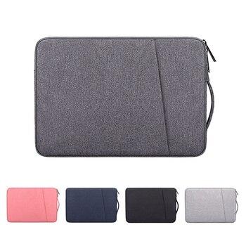 Neue Wasserdichte Laptop Tasche Abdeckung 13,3 14 15 15,6 zoll Notebook Fall Handtasche Für Macbook Air Pro HP Acer Xiaomi asus Lenovo Hülse 1