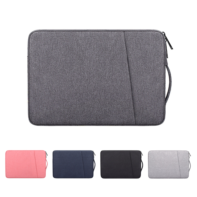 Capa de laptop, bolsa de mão à prova d'água para notebook 13.3 14 15 15.6 polegadas para macbook air pro hp ace xiaomi manga asus lenovo 1