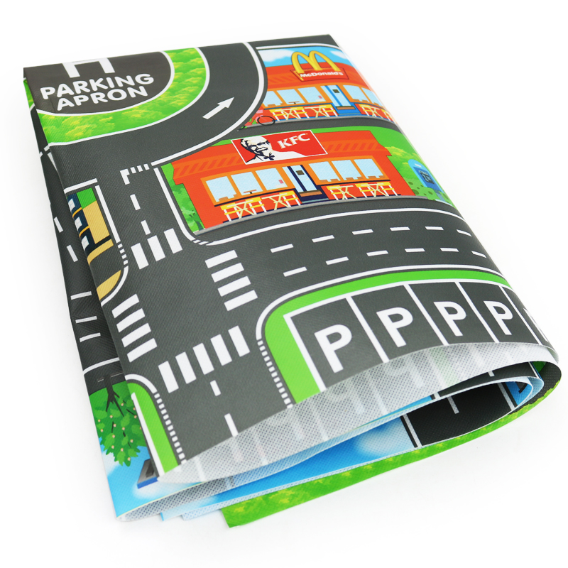 North European Style Kid Car City Scene Traffic Highway Map Play Mat Educational Toy For Children North European Style Kid Car City Scene Traffic Highway Map Play Mat Educational Toy For Children Toddler Climb Game Road Carpet