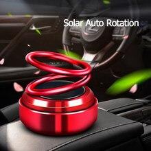 Painel Solar Auto Rotação Carro Purificadores de Ar Do Carro Fragrância Do Perfume de Ar Fresco Carro-estilo Auto Aromaterapia Acessórios Do Carro