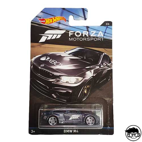 Hot Wheels BMW M4 Forza Motorsport 3/6 2018 Long Card