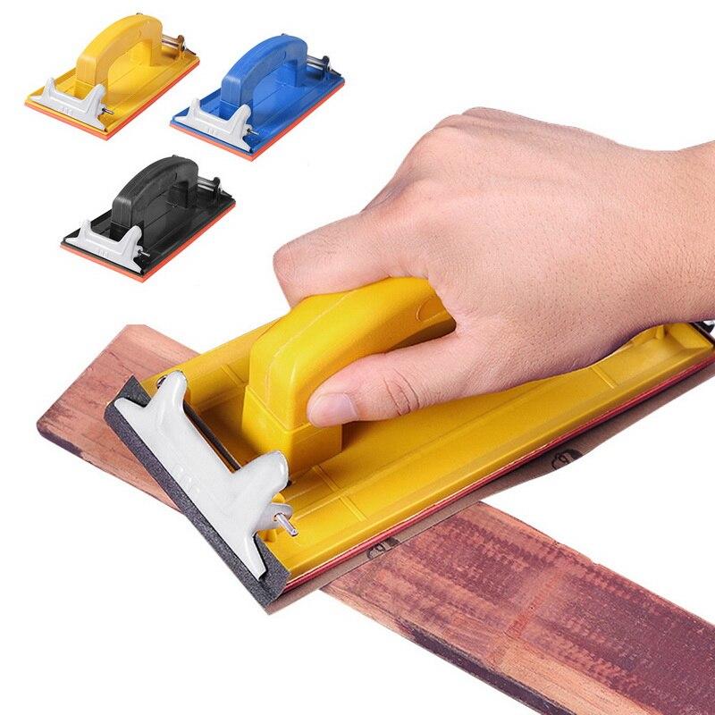 Sandpaper Holder Grinding Polish Tool Walls Woodworking Polishing Abrasive Tool Wall Sand Board Special Frame Sander Tool