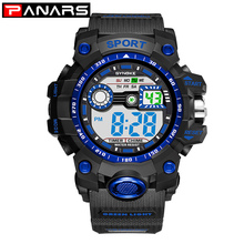 PANARS Military Sport Men's Watch Brand G Luxury Type Shock Wristwatch Digital W
