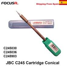 JBC C245 Löten Patronen Konische Spitze C245030 C245036 C245903 Für T245 Griff Für CD-2SE Löten Station PCB Reparatur Werkzeuge
