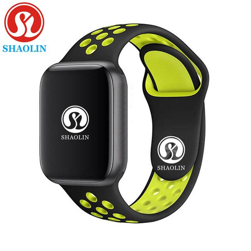 42mm hommes montre intelligente série 4 rappel de Message Via Bluetooth pour Apple Watch iphone 7 8 X Android Samsung montre téléphone Smartwatch